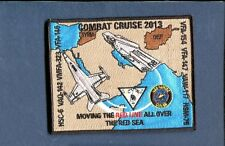 CVN-68 USS NIMITZ CVW-11 COMBAT CRUISE 2013 US NAVY Ship Squadron Cruise Patch