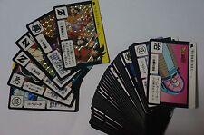 DRAGON BALL Z CARDDASS 2008 REPRINT PART 4 SET 6 PRISM + 36 REGULAR CARDS