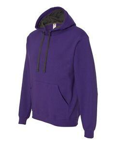 Fruit of the Loom Sofspun Hooded Pullover Sweatshirt SF76R S-3XL Hoodie