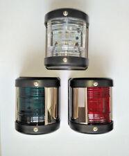 FS0014AB Victory Brass Masthead Navigation Light Curved Base w//10W Bulb 969-587