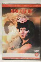 new fist of fury jackie chan ntsc import dvd English language.