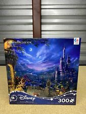 Thomas Kinkade Studios Beauty and the Beast Dancing 300 Piece Ceaco Puzzle