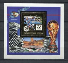 s6338) GUINEA 1990 MNH** WC Football'90- CM Calcio S/S GOLD
