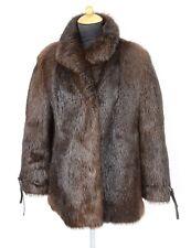 47) Nutria Pelzjacke Echtpelz Pelz Jacke 38 - Nerz ähnlich - Muskrat fur jacket