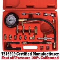 New Car 0-140 PSI Fuel Injection Pump Injector Tester Test Pressure Gauge US