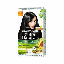 Garnier Color Naturals - Men Permanent Hair Colour Cream - Natural Black 60 ml