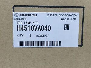 2018-2020 Subaru WRX Fog Light Kit Lamps Bezels Switch & Hardware H4510VA040 oem