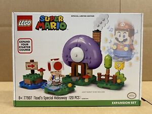 LEGO Super Mario - 77907 - Toad's Special Hideaway - NEW - SEALED -FREE SHIPPING