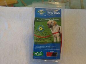 PetSafe Easy Walk Dog Training Harness- Large - Red/Black