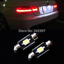 2x Error Free LED License Number Plate Light For BMW E46 E90 E92 E39 E53 E60 E71