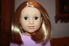 """NEW American Girl Truly Me 18""""  DOLL #53 Lt Skin Short Blonde Hair Brown Eyes"""