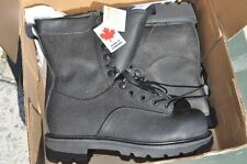 Canadian Army STEEL TOE Temperate Safety Combat Boots Men's 9 W/XW 260/102 Terra
