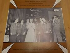 "LP1002 12"" LP 33RPM GLENN MILLER ""THE CHESTERFIELD SHOWS"" EX-"