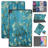 """For Samsung Galaxy Tab S6 Lite 10.4"""" P610/P615 Folding Case Leather Stand Cover"""