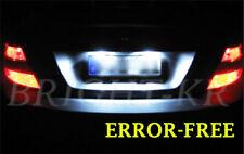 Mercedes Clase C W204 Blanco puro Xenon Número De Matrícula LED Bombillas De Luz actualización