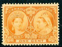 Canada 1897 Jubilee 1¢ Scott # 51 MNH D430
