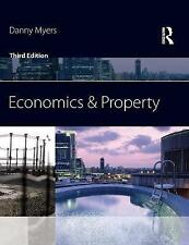Economics and Property, Good Condition Book, Myers, Danny, ISBN 9780080969947