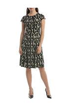 NEW Leona by Leona Edmiston Yellow Sakura Print Empire Dress Assorted