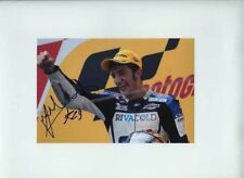 Andrea Iannone Aprilia 125 Moto GP China 2008 Firmado