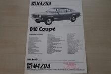 179766) Mazda 818 Coupe Prospekt 197?