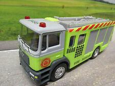 06 Dickie® Modell MAN LKW Feuerwehr Löschfahrzeug  Neu ca.11,5cm lang Kunststoff