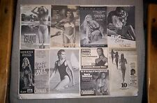 Glamour Girls TV Guide Ads PAM ANDERSON,KATHY IRELAND,CHRISTIE BRINKLEY,etc.