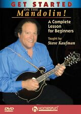 Get Started on the Mandolin! A Complete Lesson for Beginners DVD NEW 000642161