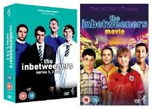 THE INBETWEENERS DVD COMPLETE SERIES 1 2 & 3 PLUS THE MOVIE BRAND NEW