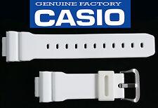 Casio G-Shock 16mm RUBBER Watch Band WHITE  DW-6900CS DW-6900 SHINY WHITE