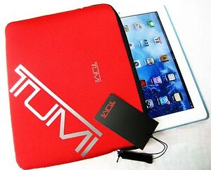 Tumi トゥミ 14280 iPad 1 2 3 Cover Sleeve Bag Case Women College Holiday Gift NEW
