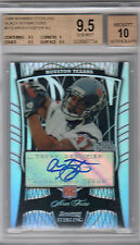 2009 BOWMAN STERLING BLACK REFRACTORS ARIAN FOSTER AUTO RC BGS 9.5 W/10 #/25