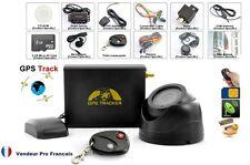 Traqueur Tracker GPS Système Alarme Voiture Temps Réel Caméra Télécommande Micro