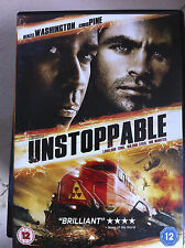 Denzel Washington Chris Pine UNSTOPPABLE  2010 Tony Scott Action Thriller UK DVD
