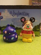 """Disney Vinylmation 3"""" Park Set Bakery Series Seven Dwarves Grumpy Cupcake"""
