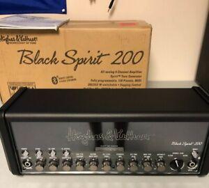 Hughes & Kettner Spirit 200w Guitar Amp Head - Black-great condition