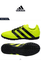 Adidas Ace 16.3 Turf Shoes Men Adult Neon Yellow Boots Cleats S31960 Soccer 9