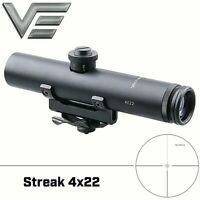 Tactical 4x22 Carry Handle Compact Rifle Scope Shock Proof Electro Sight fit