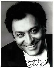 Zubin Mehta signed 8x10 photo / autograph