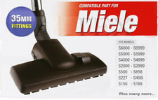 Combi Floor Tool Brush Head for Miele Vacuum Cleaner hoover CLIP LOCK ON TYPE