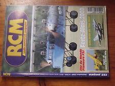 $$3 Revue RCM N°233 Plan encarte Langsam  Ferte Alais  jets Tp Gun  Piper J3