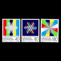Liechtenstein 1983 - Winter Olympic Games - Sarajevo 1984 - Sc 772/4 MNH