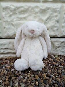 JellyCat Jelly Cat London Jelly1368 Cream Bashful Bunny Plush 10 inches Rabbit
