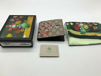 Auth Gucci snake mens wallet