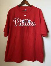 Majestic Cole Hamels #35 Philadelphia Phillies T-Shirt size XL