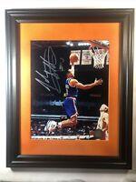 John Starks Autographed 8x10 Photo New York Knicks #3 W/COA
