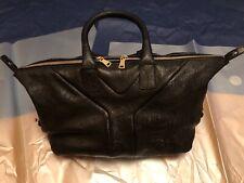 Yves Saint Laurent Vintage Rive Gauche Black Leather Bag