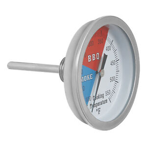 BBQ Grill Thermometer TEMP Gauge Tool Smoker Cooking Tool High TEMP Resistant