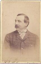 Fred Boissonnas Portrait d'un homme Genève Suisse VintageTirage Platine