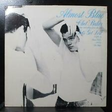 Chet Baker - Almost Blue LP VG+ Promo Novus 3061-1-NDAA USA 1989