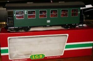 Rfb ] Gauge G - LGB 30700 DB Passenger Car 2.Kl. Original Box Very Good